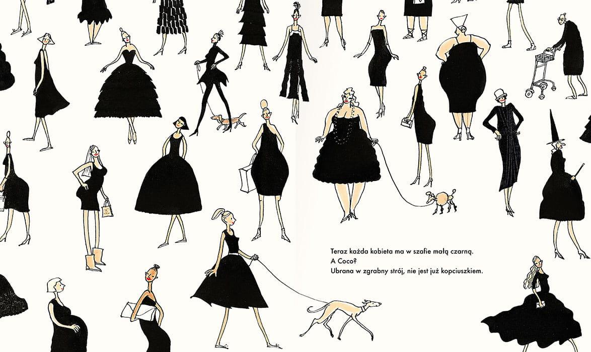 """Recenzje #166 - """"Coco i jej mała czarna sukienka"""" - mała czarna - Francuski przy kawie"""
