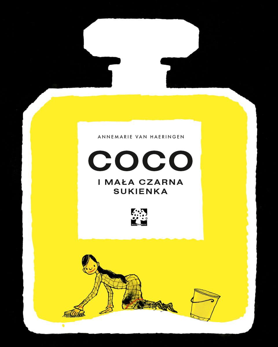 """Recenzje #166 - """"Coco i jej mała czarna sukienka"""" - okładka książki - Francuski przy kawie"""
